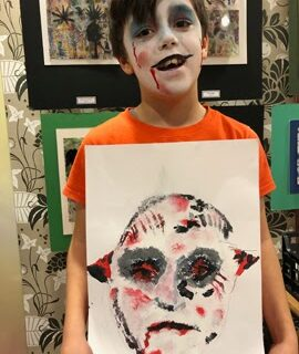 Halloween Art Club