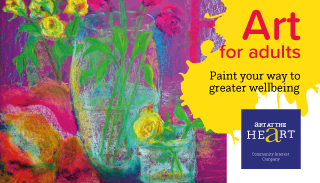 Evening art classes for adults in Solihull and Birmingham