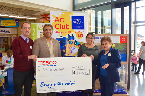 Tesco Bags of Support