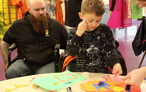 Family friendly arts activities at easily accessible venues