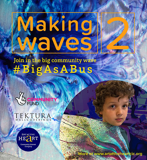 Wonderful Waves for #BigAsABus
