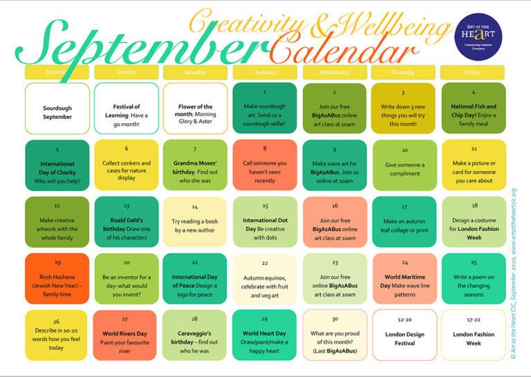 September 2020 Everyday Creativity