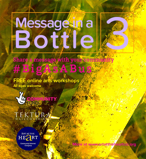 Message in a bottle for #BigAsABus