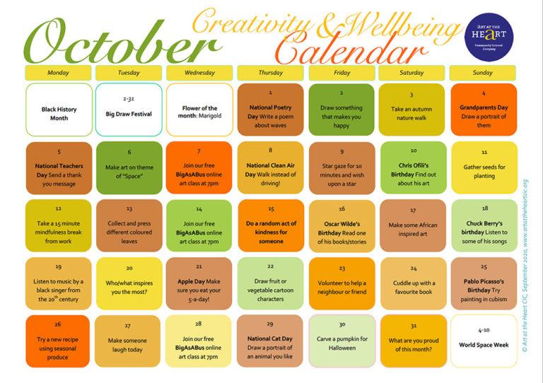 October 2020 Everyday Creativity