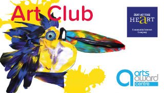 Art classes in solihull: Art Club toucan identity