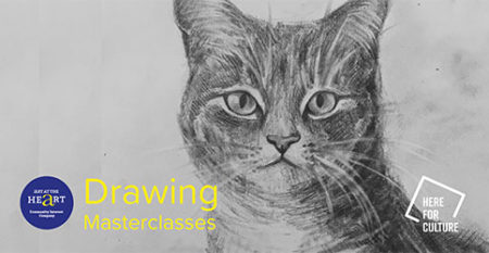 Drawing Masterclasses with Art at the Heart CIC
