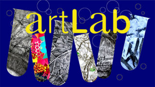 Art classes in Solihull: Images of test tubes containing experimental artwork produced by children in artLab