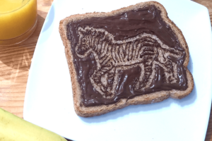 Nutella Art4