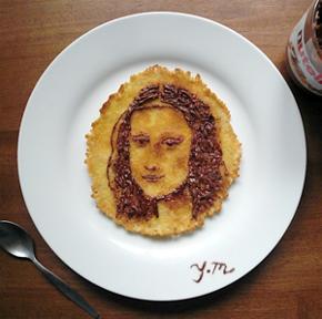 Nutella Mona Lisa