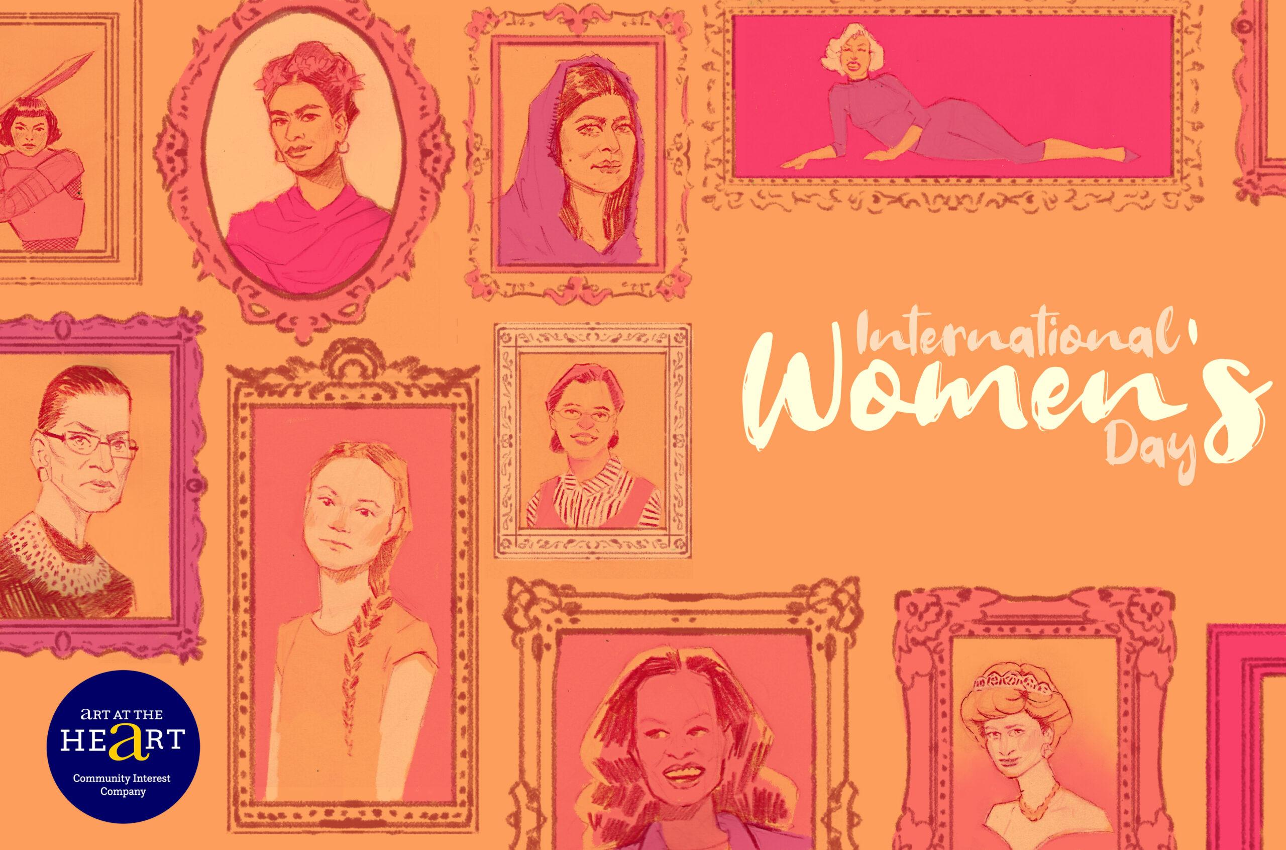 international womens day new logo