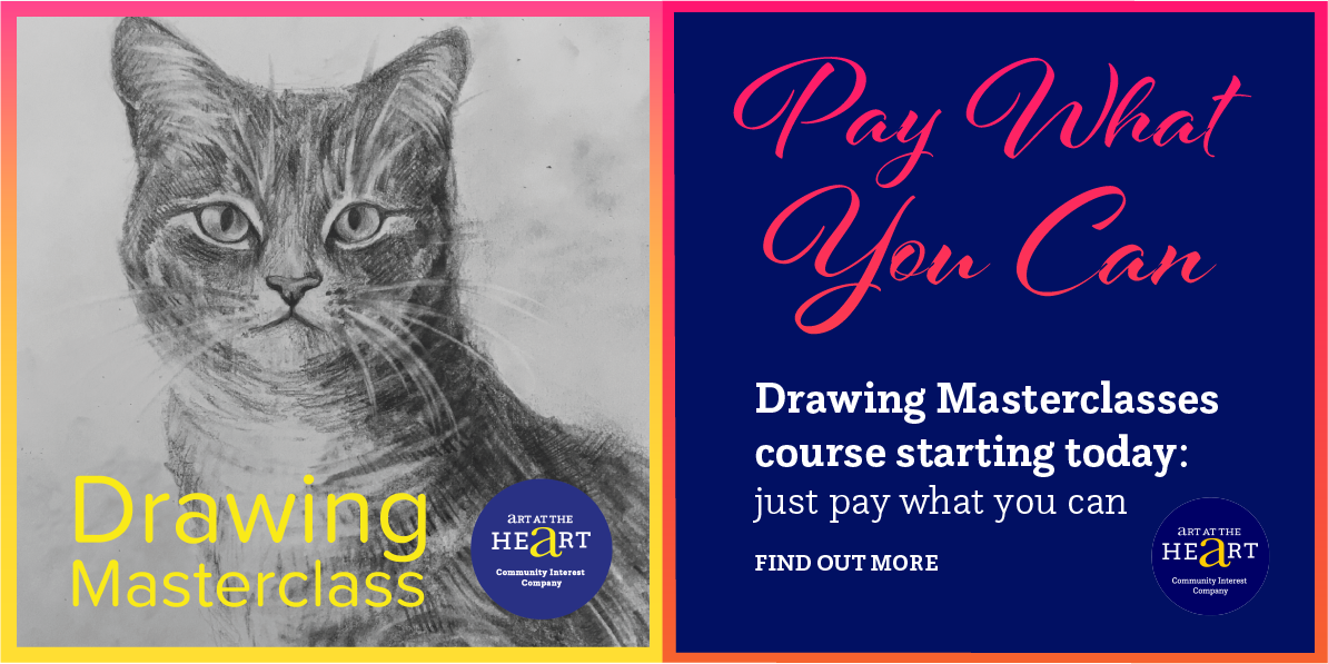 Image for Pay What You Can Offer for Drawing Masterclasses