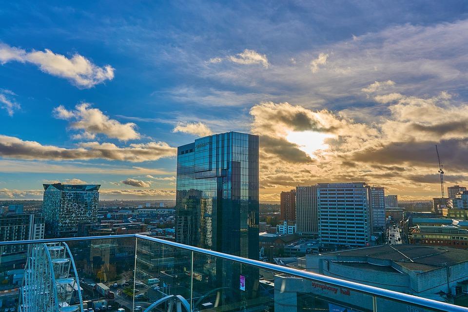 A city scape of central Birmingham
