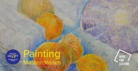 Pastel still life for Painting Masterclass